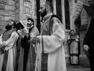 Commemoration of the 105th Anniversary of the Armenian Genocide During The COVID 19 Lockdown in the UK. Photo: ©Edmond Terakopian